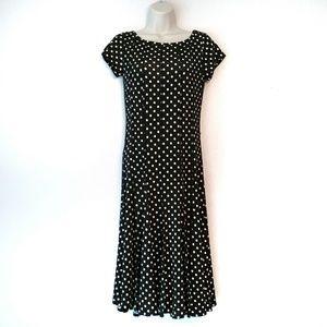 Haani - polka dot stretch dress Size small